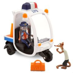 Judy Hopps Meter Maid Pursuit Play Set - Zootopia.  Available at the Disney Store.