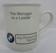 Bmw logo ceramic #coffee tea mug cup automobile employee key #personnel #training,  View more on the LINK: http://www.zeppy.io/product/gb/2/181733172720/