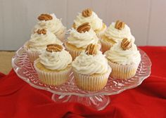 Italian Cream Cheese Cupcakes or Cake Batter, with coconut