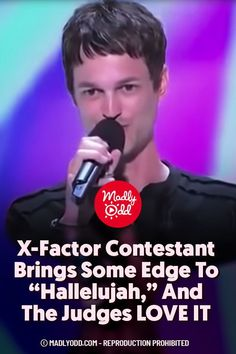 "Leonard Cohen's ""Hallelujah"" has certainly taken the world by storm since it's 1984 radio release. But this father's 2012 rendition on hit TV series The X Factor will leave you speechless. #TheXFactor #LeonardCohen #Hallelujah #Music #Singer"