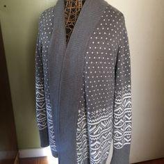 Shawl collar cardigan Aztec Excellent condition beautiful Aztec pattern GAP Sweaters Cardigans