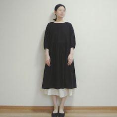 【型紙・作り方】おしゃれ割烹着 Handmade Clothes, Sewing, Pattern, Blog, Dresses, Kids, Fashion, Diy Clothing, Vestidos
