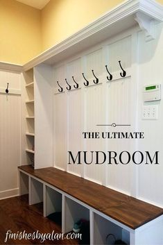 Image result for diy mudroom plans