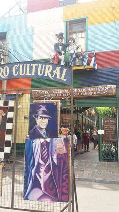 La Boca, Buenos Aires ♤ Carlos Gardel - Tango Singer Sensation
