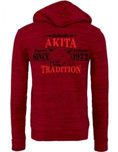 Authentic Akita Tradition Zipper Hoodie