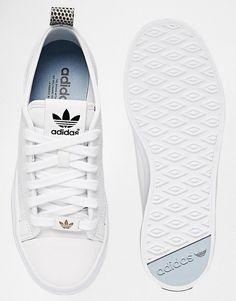 adidas | adidas Originals – Honey 2.0 – Weiße Turnschuhe bei ASOS