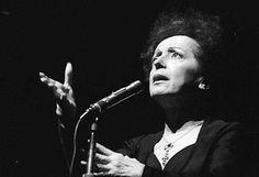 """Más #MujeresInfluyentes en la música: Edith Piaf #EnVivo en Holanda en 1962 con """"La Foule"""" ¿Qué tal?"""