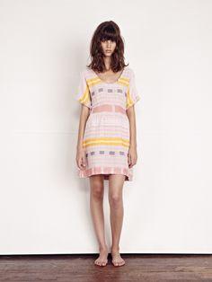 Ace & Jig Picnic Dress - Crayon