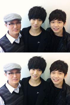 Super Junior's Yesung's family.