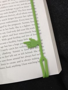 Guys. It's a book mark that marks your spot in the book.