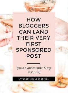 Are you interested in earning money with your blog? Do you want to work with brands and have collaboration requests flooding your inbox? Sponsored posts are a great way to monetize your blog and make money as a blogger. Learn how to grow your blog, build your traffic and write posts brands will love! Click through to read about how I landed my first sponsored post, and save this pin for others to find too!