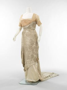 robe dress 1900 - 1910
