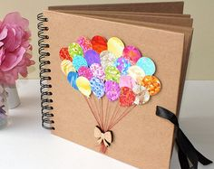 Personalised Scrapbook Album Photo Album Baby Scrapbook by CardsbyGaynor | Etsy