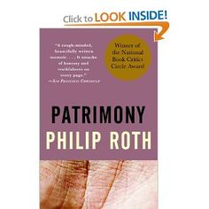 Patrimony: A True Story by Philip Roth Finished July 22, 2013