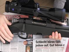 In this video I explain how I clean rifle after shooting.