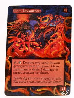 This Is Only One Of My Altered Cards From This Week! To See Them All:   www.stores.ebay.com/MTGAlteredMagicCards  #MTG #MtgAltered #Magic #MagicTheGathering #WOTC #TCG #WizardsOfTheCoast #TradingCards