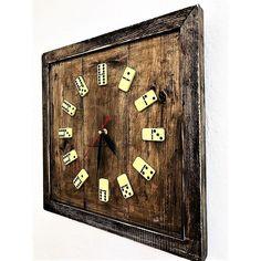 Ceas de Perete din Lemn Masiv CPT2601-35 Industrial, Clock, Wall, Home Decor, Watch, Decoration Home, Room Decor, Industrial Music, Clocks