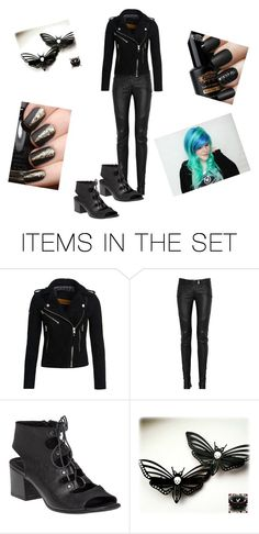 """BAD ASS"" by rose20002 ❤ liked on Polyvore featuring art"