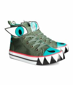 Monster shoes ($14).