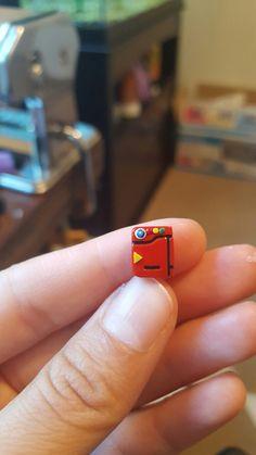 Tiny Polymer Clay Pokemon Pokedex :)