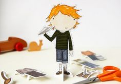 """Why Paper Dolls Are The Next Big Trend for Kids    """"It's a movement that's unspeakably refreshing in today's fast-paced society, encouraging kids to slow down, breathe deeply and craft something magical. Because in the words of Albert Einstein, """"Imagination is more important than knowledge."""""""