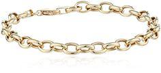 "14k Yellow Gold Link Bracelet, 7.5"" Amazon Curated Collection http://www.amazon.com/dp/B00D3FKKNQ/ref=cm_sw_r_pi_dp_QZW6ub1Z4RWC8"