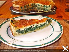 Spinat - Quiche