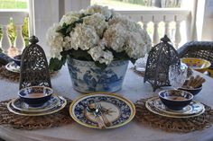 Setting the perfect summer table.....and a tabletop giveaway! - The Enchanted Home