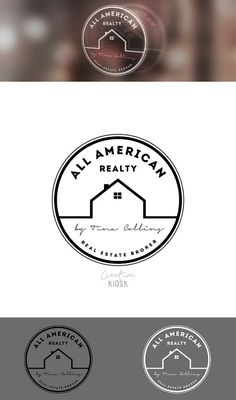 Real-estate is among the industries who are stepping up with their online marketing. Letterhead Business, Business Logo, Stationery Design, Branding Design, Logo Design, Ict Logo, Building Logo, Realtor Logo, Printed Magnets