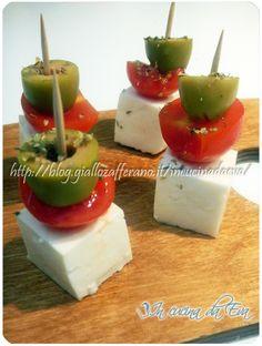 Torrette di pomodoro olive e primosale