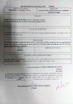 Portal Esporte São José do Sabugi: Advogado corrige informação: Eleição no Vasco está...