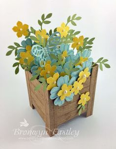 Spring Planter Box Card | addINKtive designs | Bloglovin'