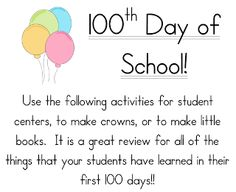 "FREE MATH LESSON - ""FREE MATH LESSON - ""I Am 100 Days Smarter!"" - Go to The Best…"