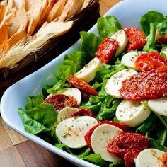 Salada de Tomate Seco com Palmito
