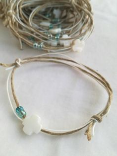 Christening Bracelets, Baptism Favors, Boy Baptism, Blue Beads, Glass Beads, Greek, My Etsy Shop, Take That, Handmade Items