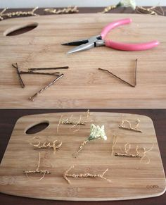 Easy Wire Hairpins / 46 Ideas For DIY Jewelry You'll Actually Want To Wear