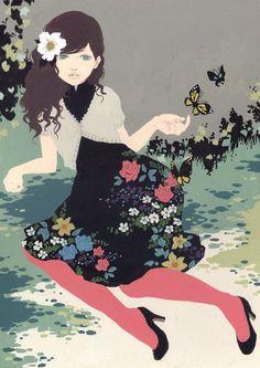 flower girl by Katogi Mari,