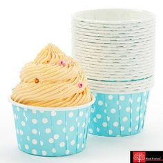These stylish Muffin cups are made from food grade paper  Cream cheese paper cupcakes  Great for cupcakes, desserts, hot and cold appetizers, and candies  Disposable, Eco-Friendly