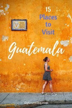 Top 15 Places to Visit in Guatemala on a Budget - DIY Travel HQ Ruins, volcanoes, lakes, villages & markets. Guatemala is a country of adventure & culture, with Maya traditions alive & well. Find out the top 15 Guatemala attractions! Tikal, Travel Guides, Travel Tips, Air Travel, Travel Advice, Travel Usa, Travel Destinations, Honduras, Atitlan Guatemala