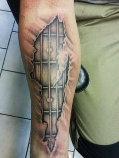Guitar Tattoo Designs and Ideas for Men and Women23