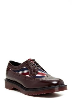 Wingtip Oxblood Oxford on HauteLook