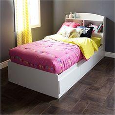 Pemberly Row Wood Twin Mates Bed in White Pemberly Row https://www.amazon.com/dp/B01IQGA7P2/ref=cm_sw_r_pi_dp_x_IC0tybFA5RHK4