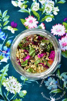 Utleniana herbata ziołowo-kwiatowa. Utleniana a nie oksydowana!