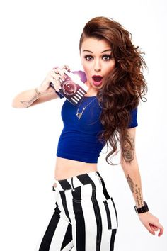 Cher Lloyd - She's so gorgeous, she doesn't care what people think of her, & obviously her style is to die for ♥