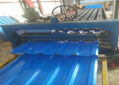 Corrugated Roll Forming Machines can manufacture different profile of stainless steel roofing sheet and wall sheets as per customer's requirement drawing and necessity. This profile is new structure equipment with different width. Its make many reward like low product capacity, easy installation, high strength.