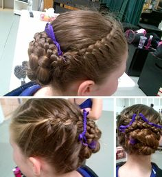 Christine P.'s daughter shared her Maze of Braids with us