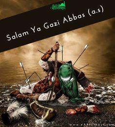 Salam Ya Abbas (a. Islamic Images, Islamic Pictures, Muharram Pictures, Ali Islam, Karbala Pictures, Imam Hussain Karbala, Battle Of Karbala, Ibn Ali, Hazrat Ali