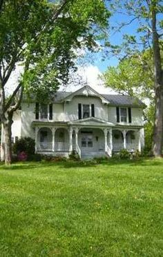 I could see us raising our babies here and then rocking in our rocking chairs while the grand babies play in the yard!