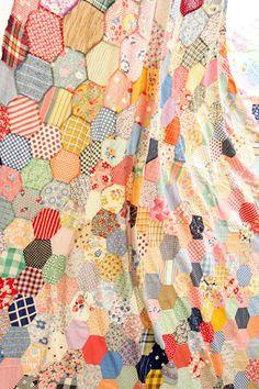 アンティークキルトトップ vintage quilt