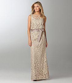 Tadashi Sleeveless Gown | Dillards.com